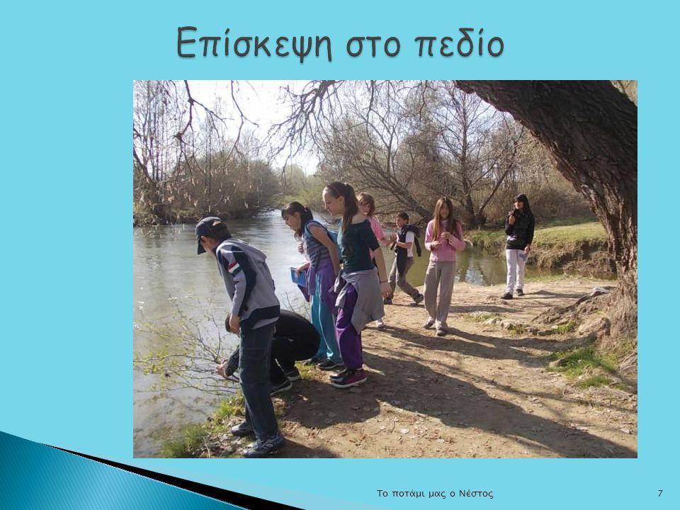Επίσκεψη στο πεδίο Το ποτάμι μας ο Νέστος