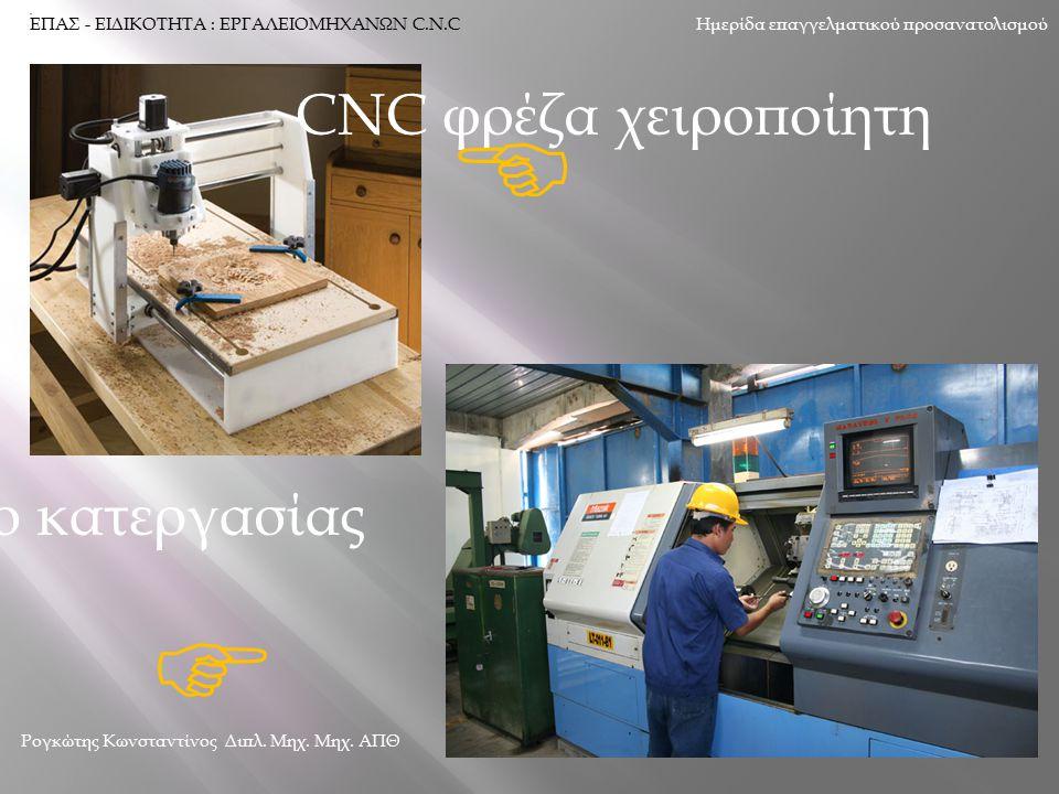 CNC κέντρο κατεργασίας