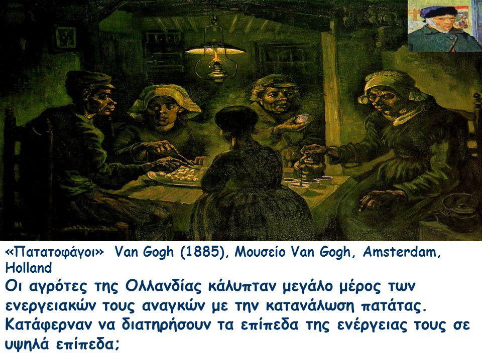 «Πατατοφάγοι» Van Gogh (1885), Μουσείο Van Gogh, Amsterdam, Holland