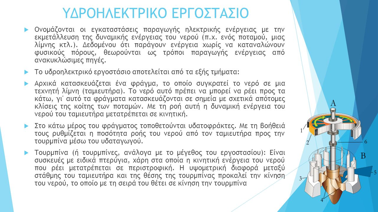 ΥΔΡΟΗΛΕΚΤΡΙΚΟ ΕΡΓΟΣΤΑΣΙΟ