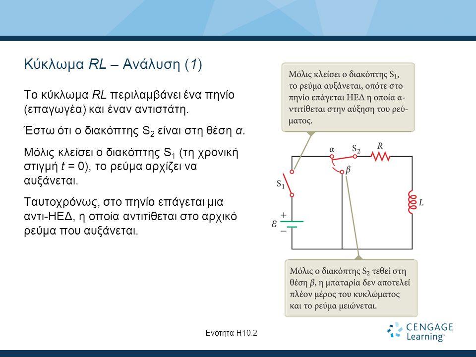Κύκλωμα RL – Ανάλυση (1)