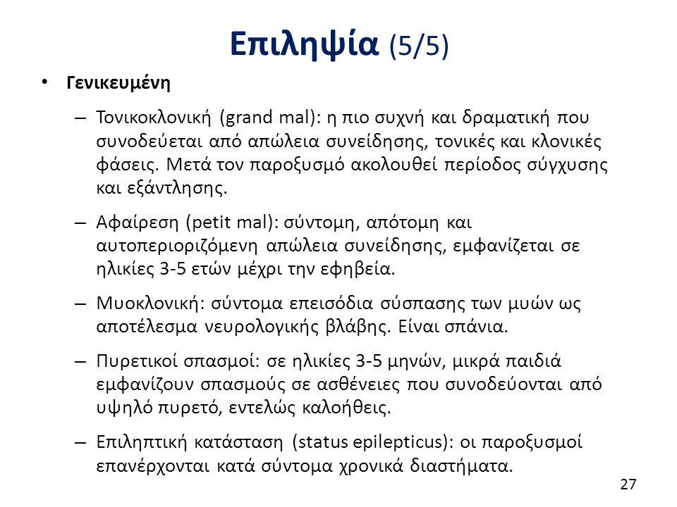 Φάρμακα στην επιληψία (1/4)
