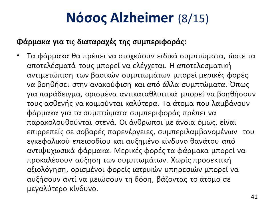 Νόσος Alzheimer (9/15)