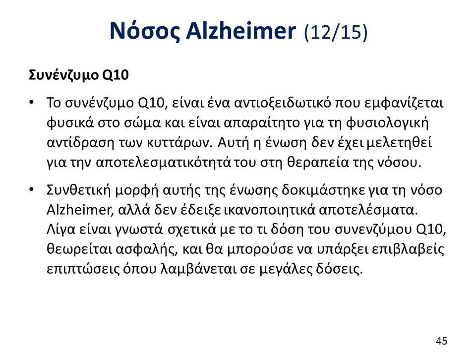 Νόσος Alzheimer (13/15) Coral ασβέστιο
