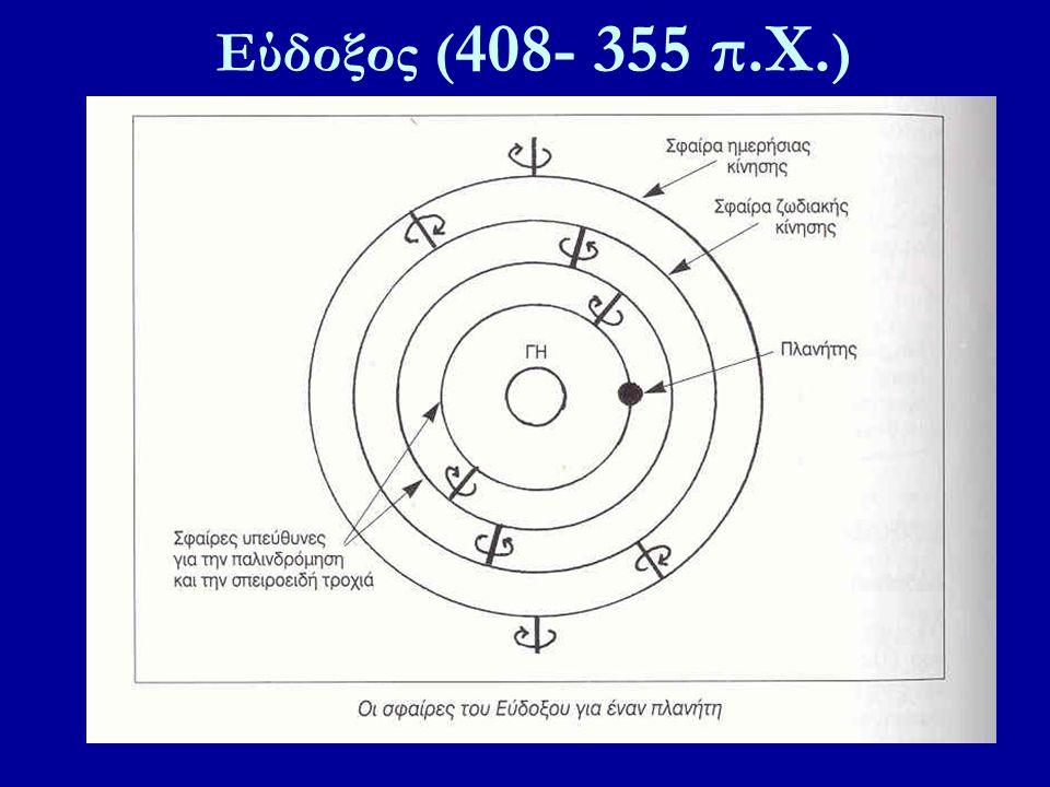 Εύδοξος (408- 355 π.X.)