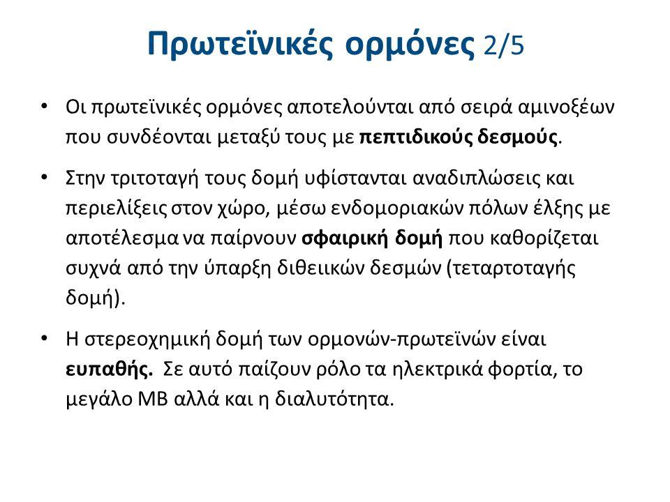 Πρωτεϊνικές ορμόνες 3/5