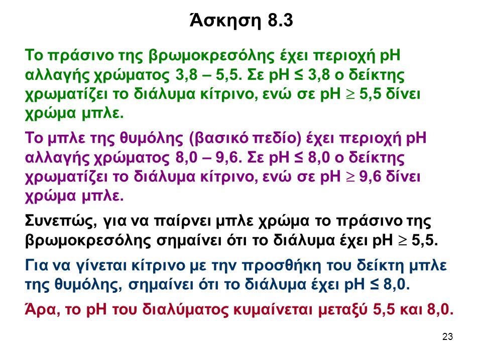 Άσκηση 8.3