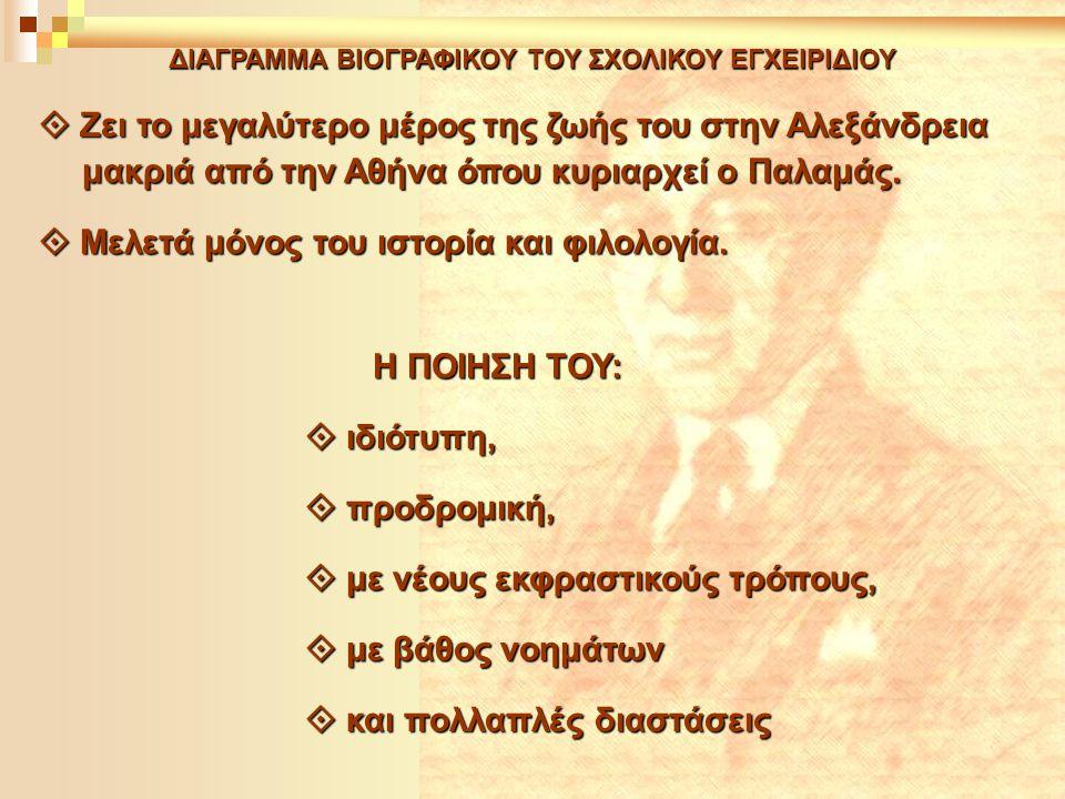 ΔΙΑΓΡΑΜΜΑ ΒΙΟΓΡΑΦΙΚΟΥ ΤΟΥ ΣΧΟΛΙΚΟΥ ΕΓΧΕΙΡΙΔΙΟΥ