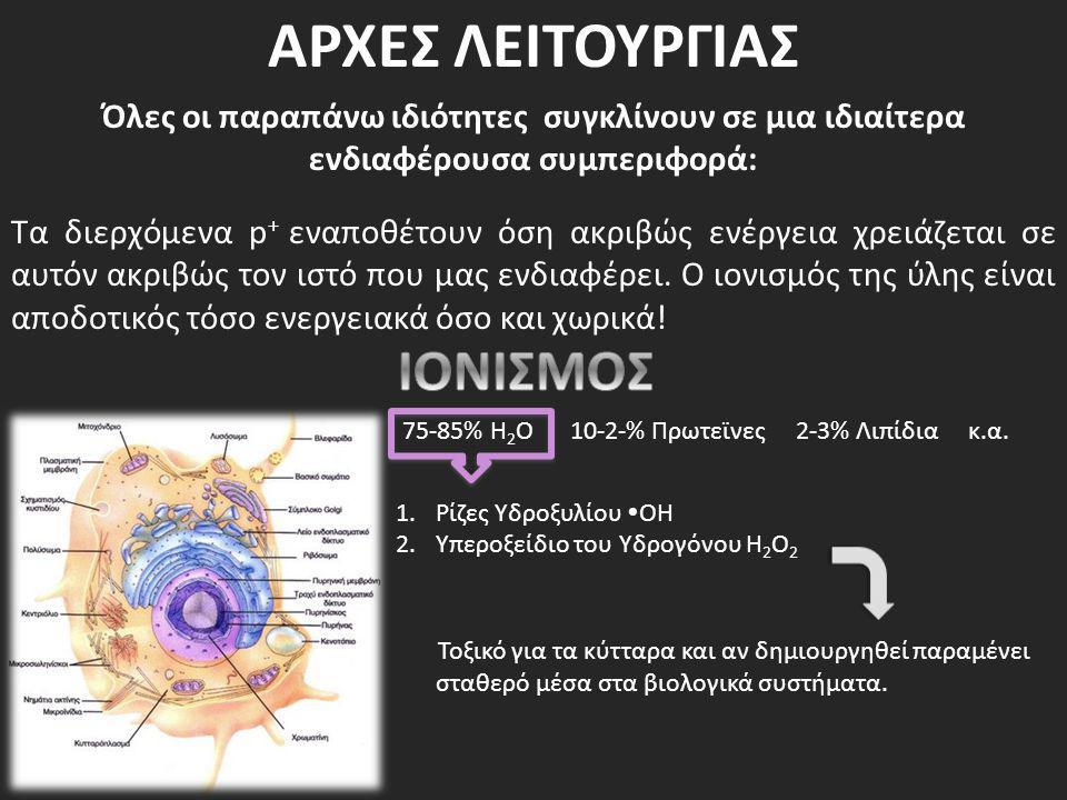 ΑΡΧΕΣ ΛΕΙΤΟΥΡΓΙΑΣ ΙΟΝΙΣΜΟΣ