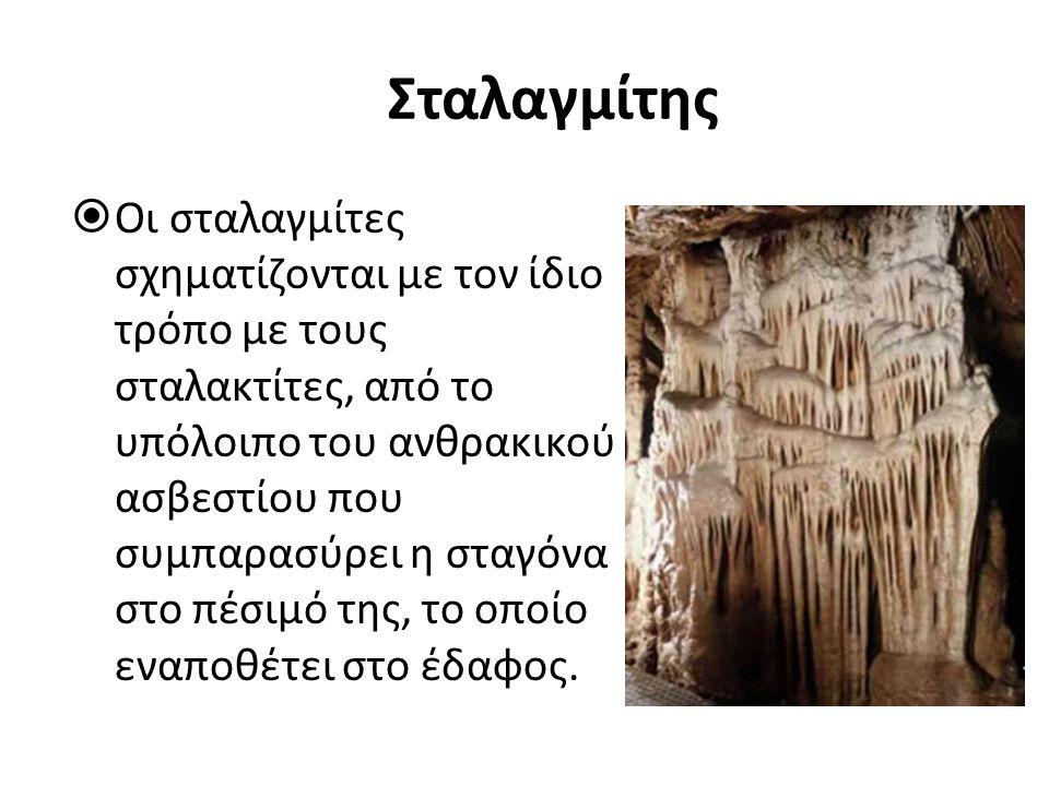 Σταλαγμίτης