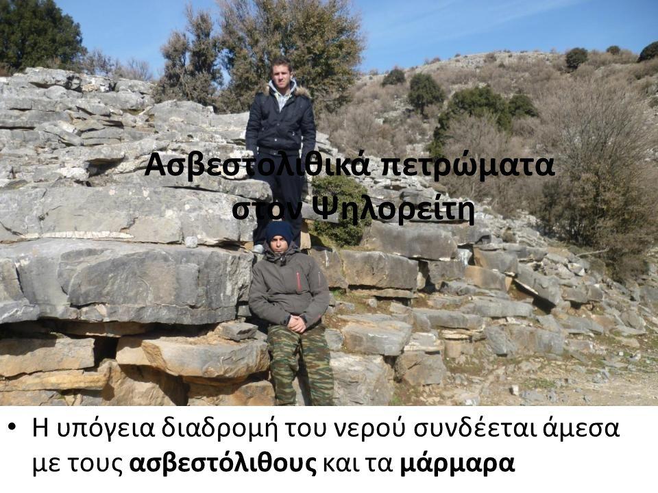 Ασβεστολιθικά πετρώματα στον Ψηλορείτη