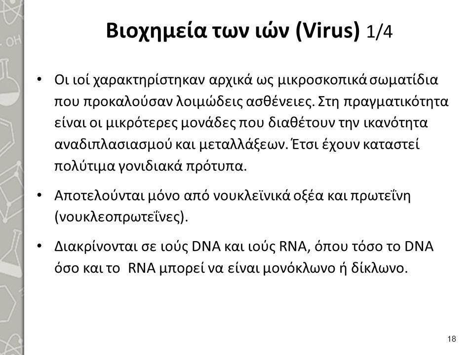 Βιοχημεία των ιών (Virus) 2/4
