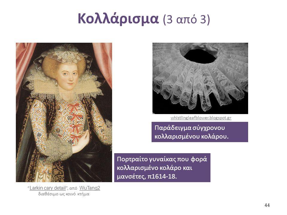 Βιβλιογραφία (1 από 2) Αγγελοπούλου-Βολφ, E. (1986), Αργαλειός. Αθήνα: Δόμος.