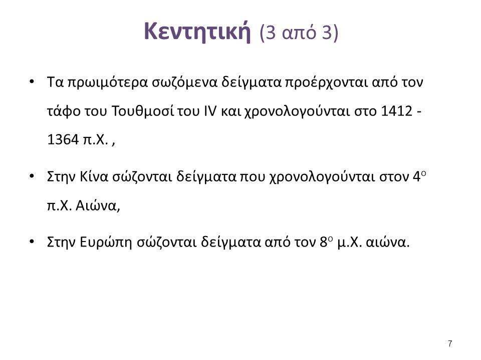 Είδη κεντήματος (Ελλάδα) (1 από 2)