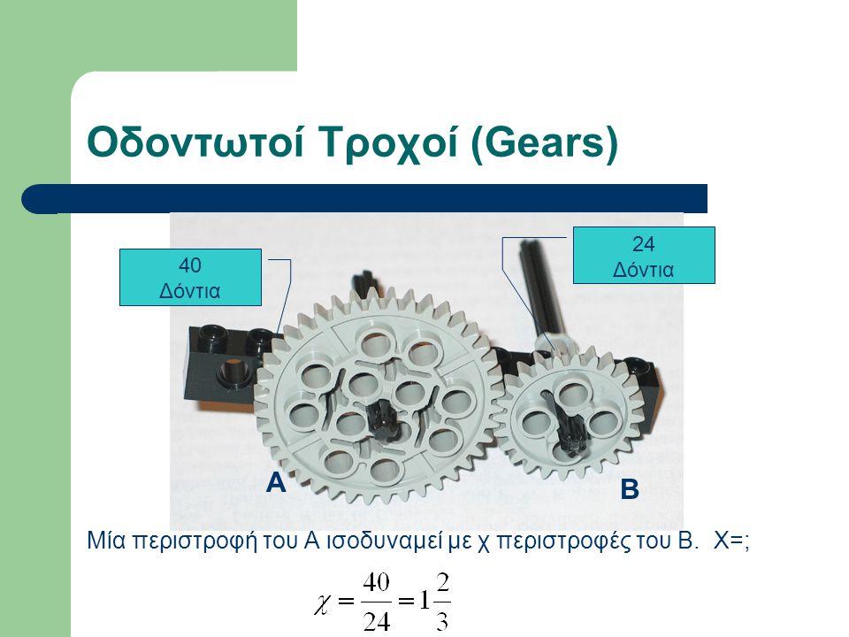Οδοντωτοί Τροχοί (Gears)