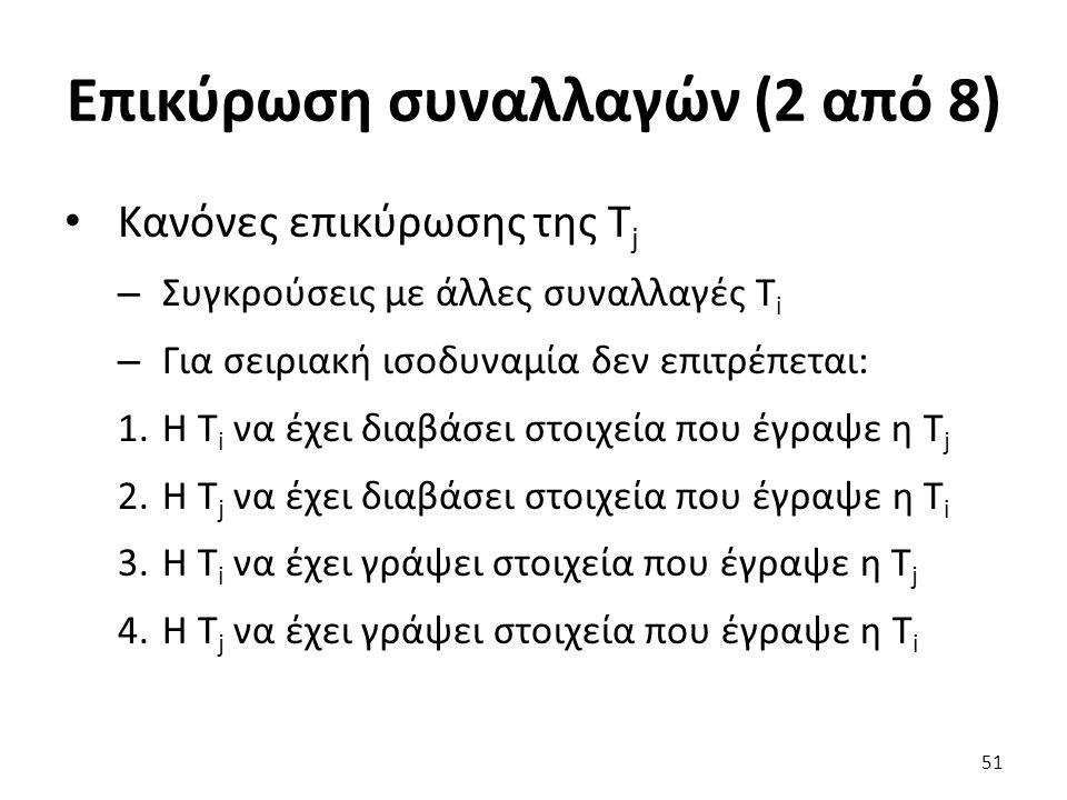 Επικύρωση συναλλαγών (2 από 8)