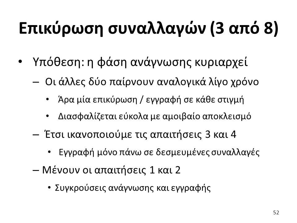 Επικύρωση συναλλαγών (3 από 8)