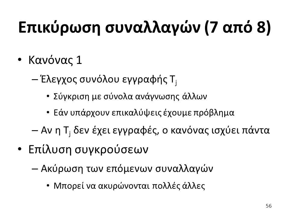 Επικύρωση συναλλαγών (7 από 8)