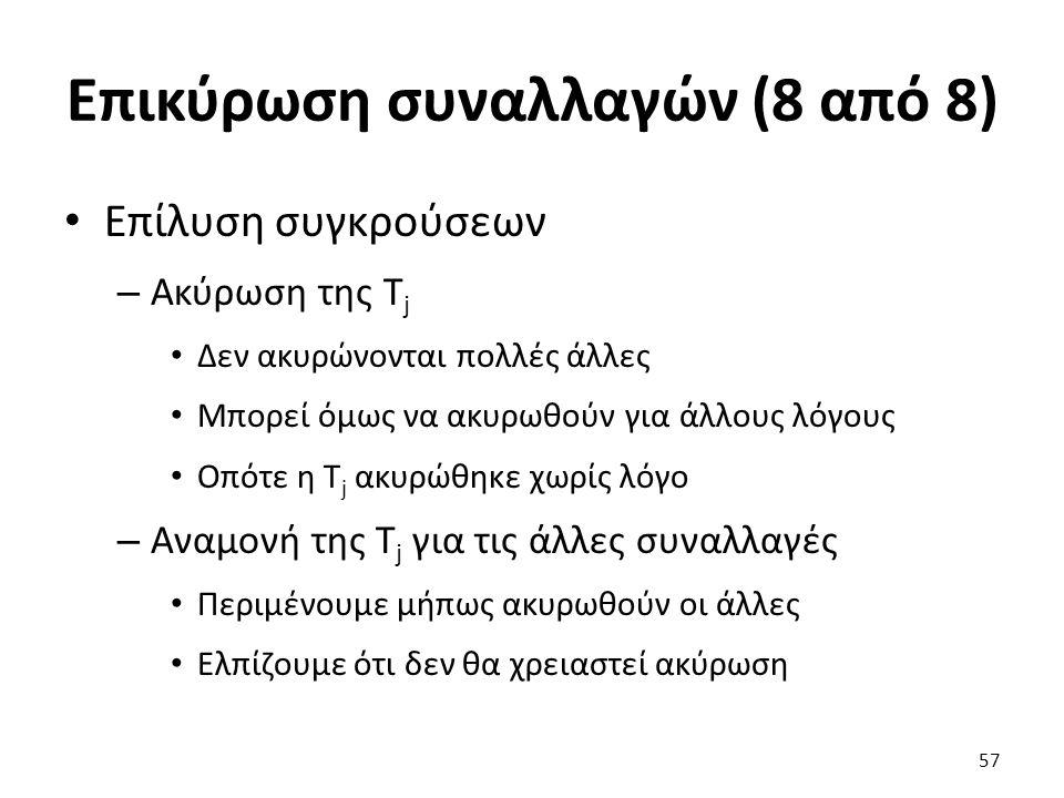 Επικύρωση συναλλαγών (8 από 8)