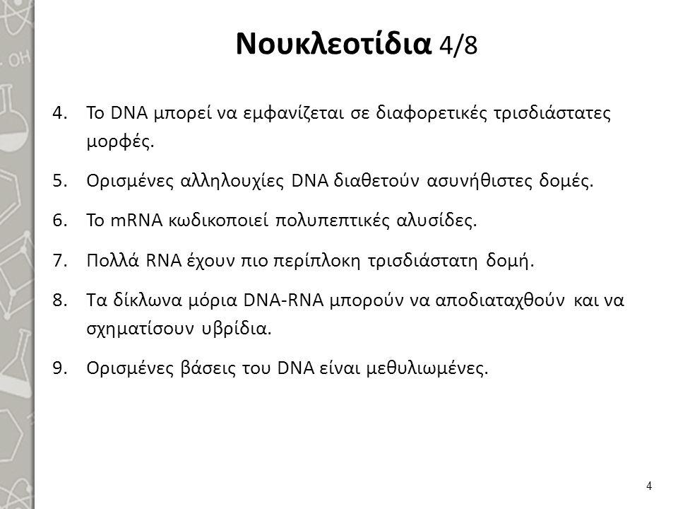 Difference DNA RNA-EN , από Sponk , διαθέσιμο με άδεια CC BY-SA 3.0