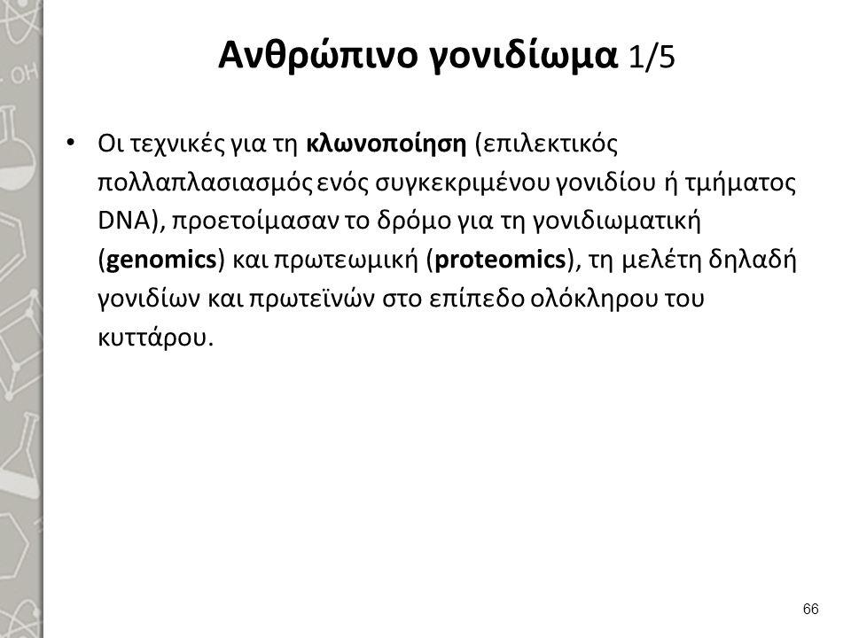 Ανθρώπινο γονιδίωμα 2/5