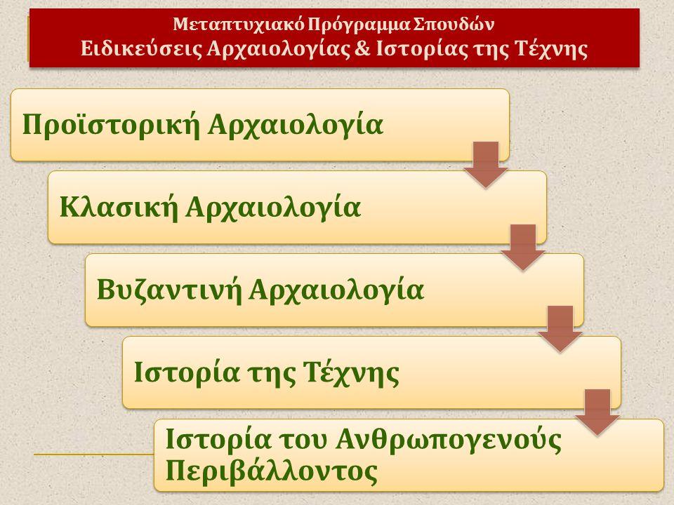 Προϊστορική Αρχαιολογία