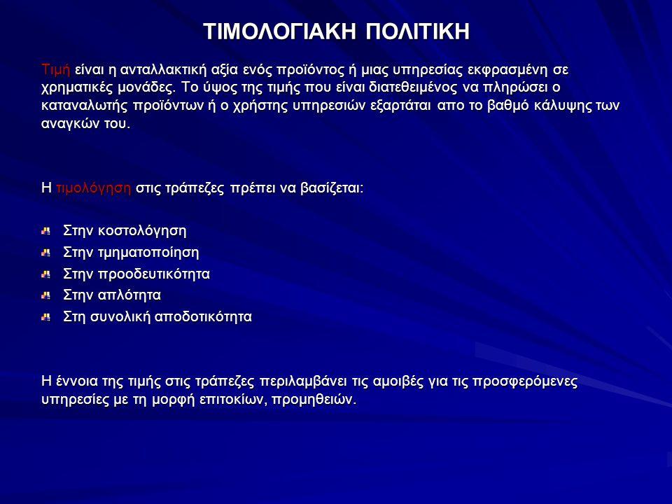 ΤΙΜΟΛΟΓΙΑΚΗ ΠΟΛΙΤΙΚΗ