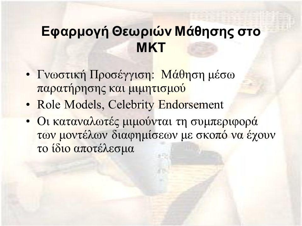 Εφαρμογή Θεωριών Μάθησης στο ΜΚΤ