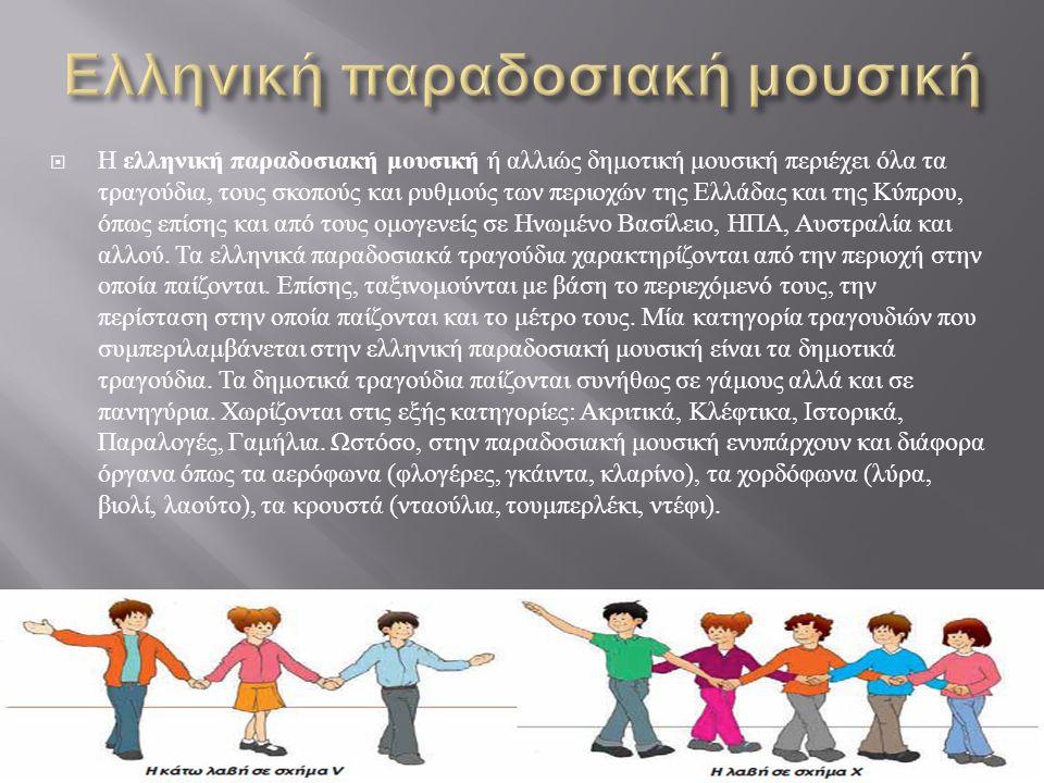 Ελληνική παραδοσιακή μουσική
