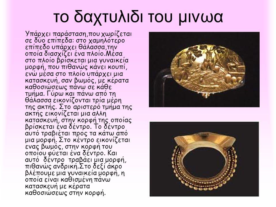 το δαχτυλιδι του μινωα