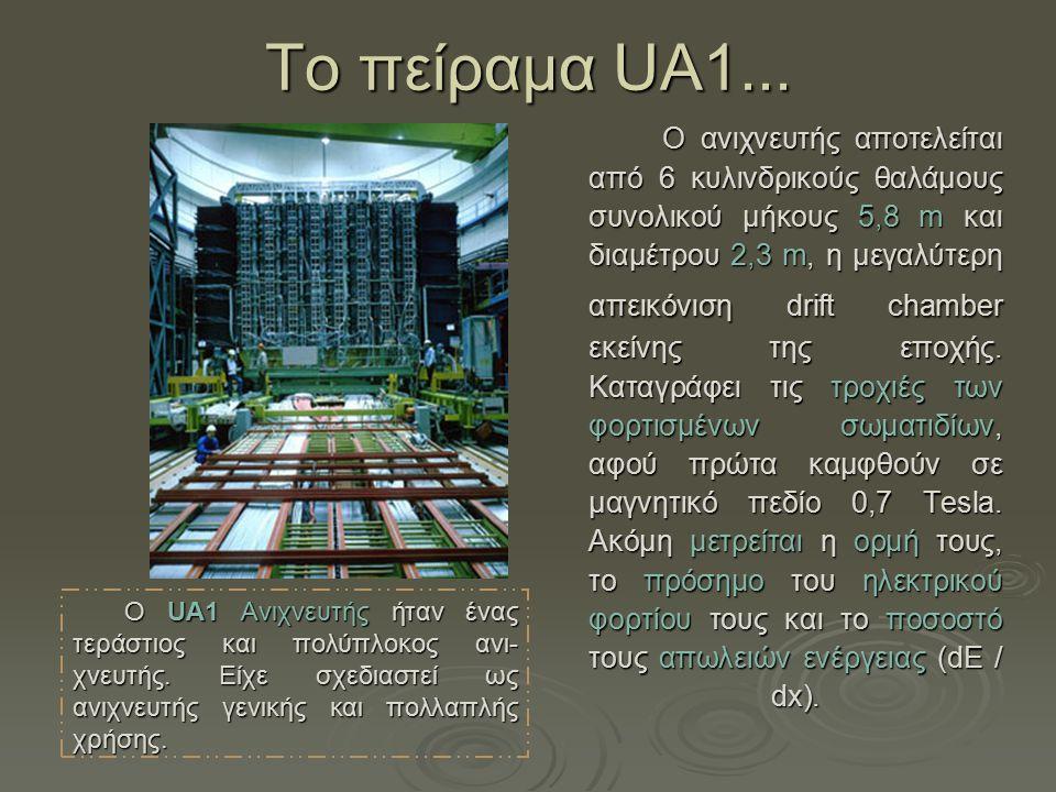 Τo πείραμα UA1...