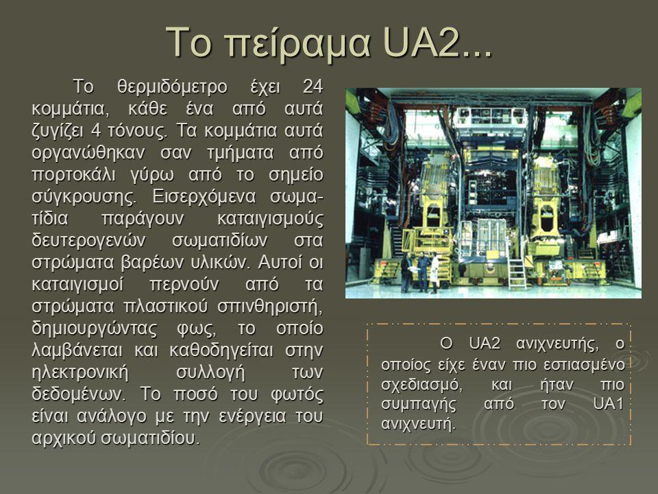 Τo πείραμα UA2...