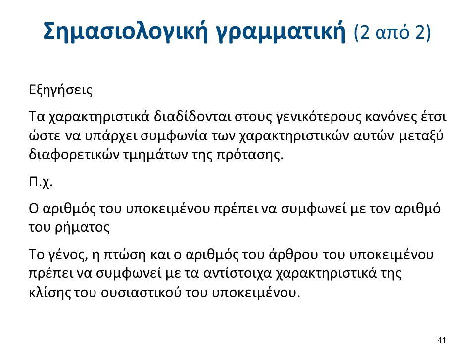 Κατανόηση φυσικής γλώσσας Το πρόγραμμα ΕLΙΖΑ (1 από 4)