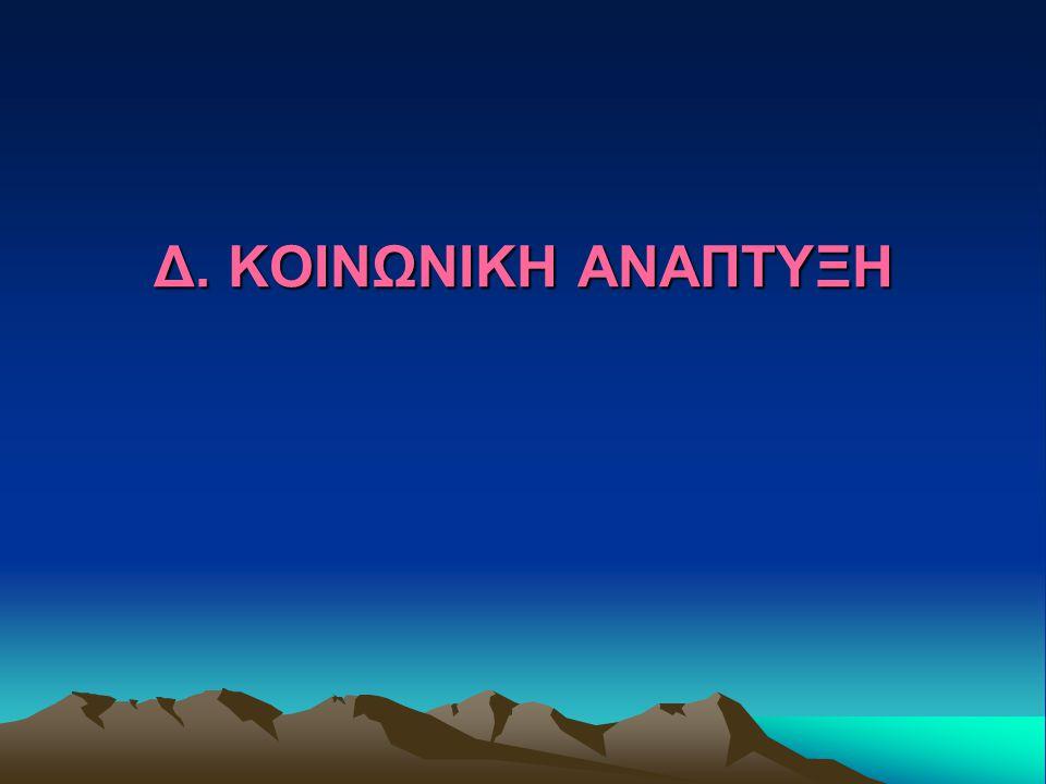 Δ. ΚΟΙΝΩΝΙΚΗ ΑΝΑΠΤΥΞΗ