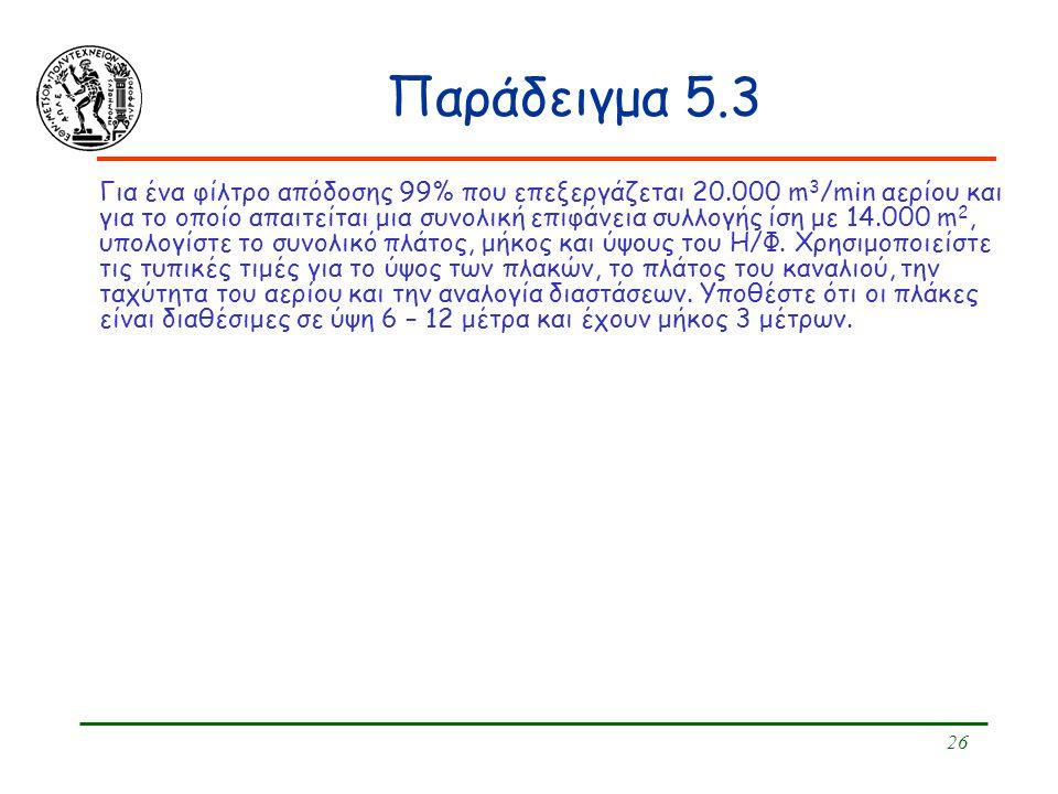 Παράδειγμα 5.3