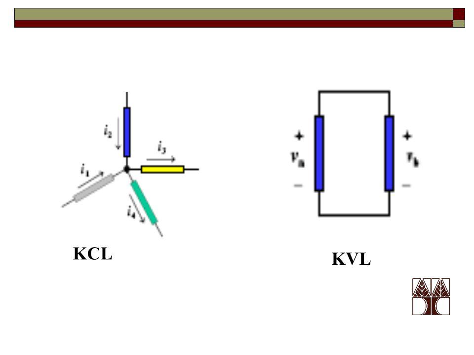 KCL KVL