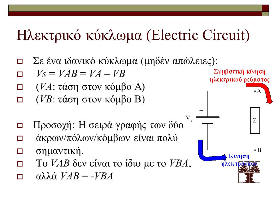 Ηλεκτρικό κύκλωμα (Electric Circuit)