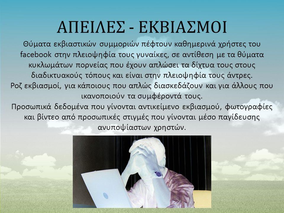 ΑΠΕΙΛΕΣ - ΕΚΒΙΑΣΜΟΙ