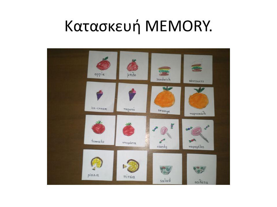 Κατασκευή MEMORY.