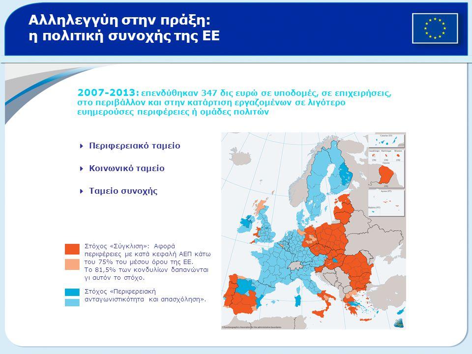 Αλληλεγγύη στην πράξη: η πολιτική συνοχής της ΕΕ