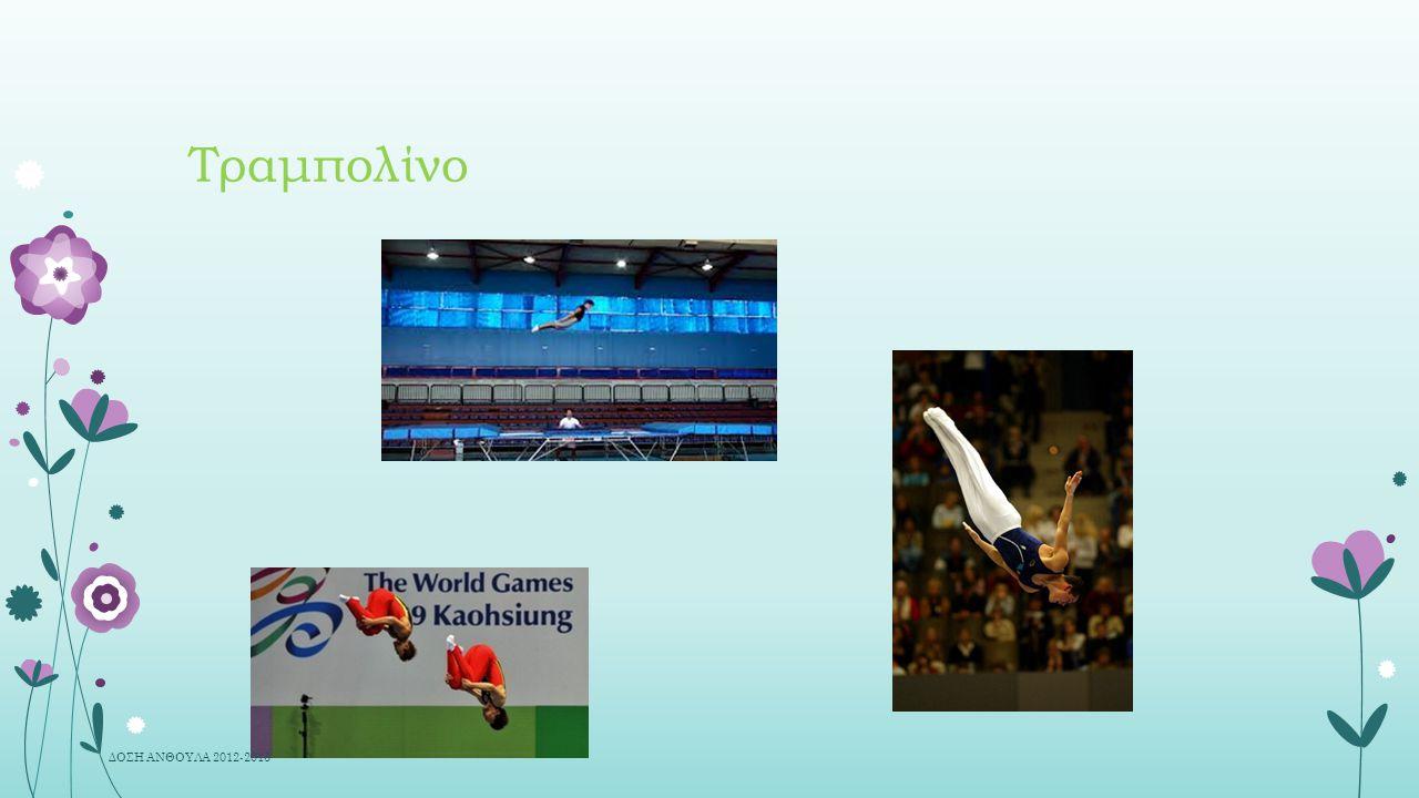 Τραμπολίνο ΔΟΣΗ ΑΝΘΟΥΛΑ 2012-2013