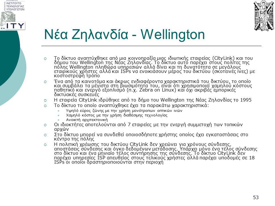 Νέα Ζηλανδία - Wellington