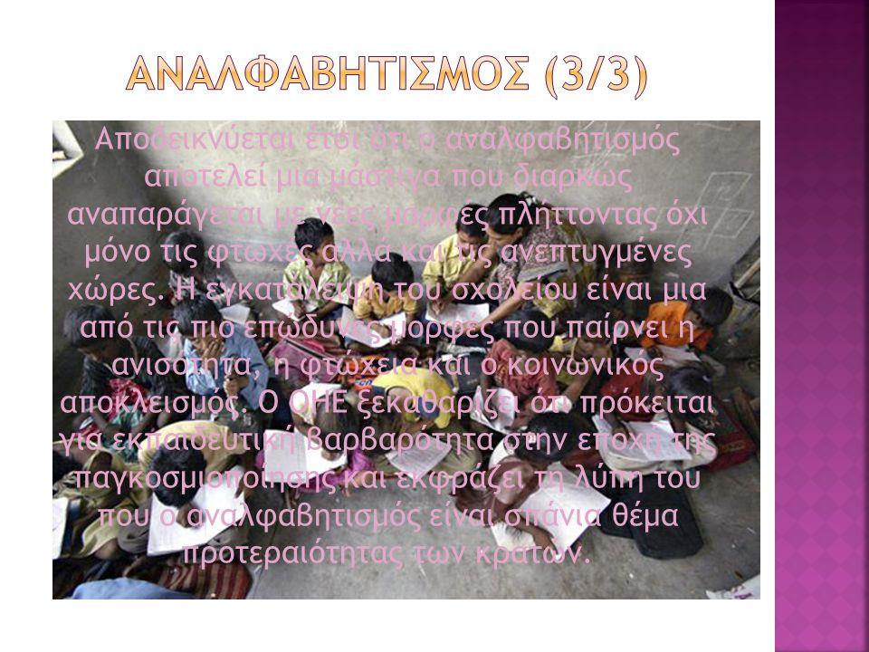 ΑΝΑΛΦΑΒΗΤΙΣΜΟΣ (3/3)
