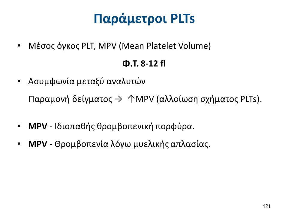 Αιμοπετάλια ή Θρομβοκύτταρα Platelets 1/2