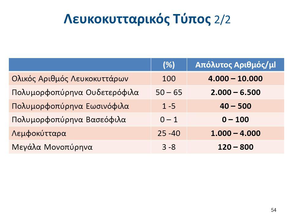 4. Μέτρηση Ερυθροκυττάρων