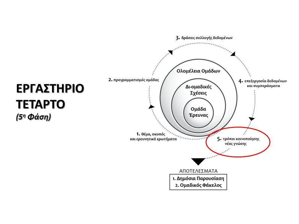ΕΡΓΑΣΤΗΡΙΟ ΤΕΤΑΡΤΟ (5η Φάση)