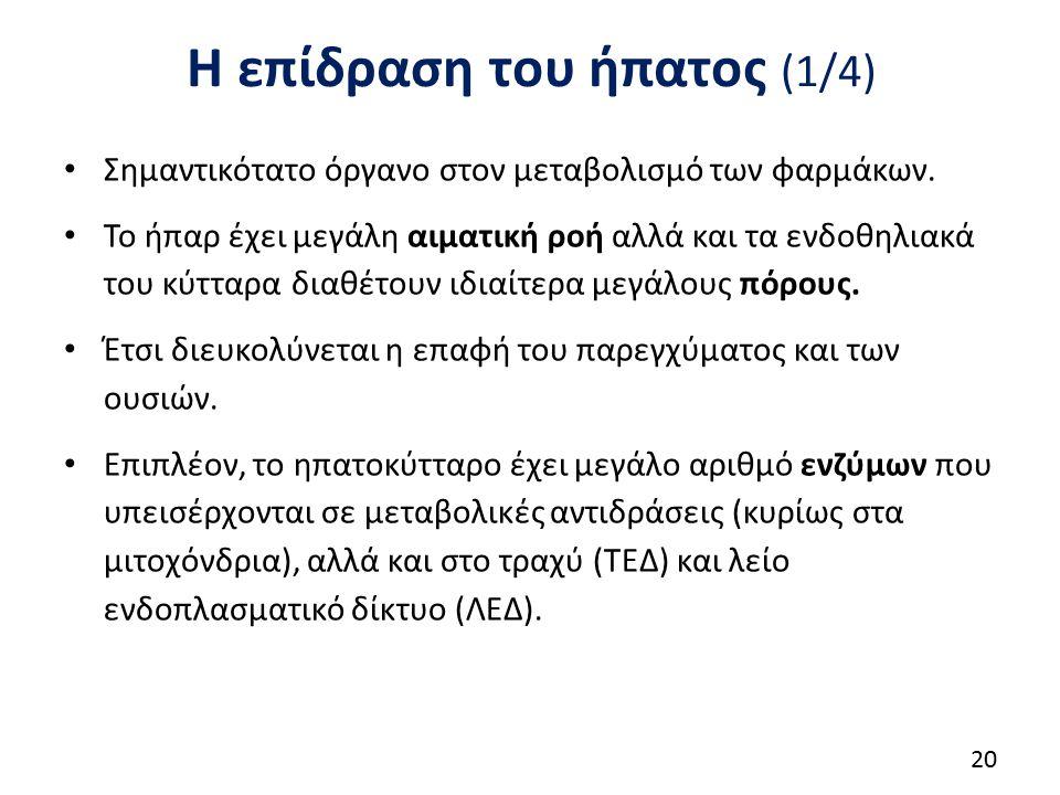 Η επίδραση του ήπατος (2/4)