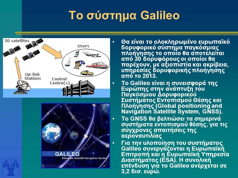 Το σύστημα Galileo