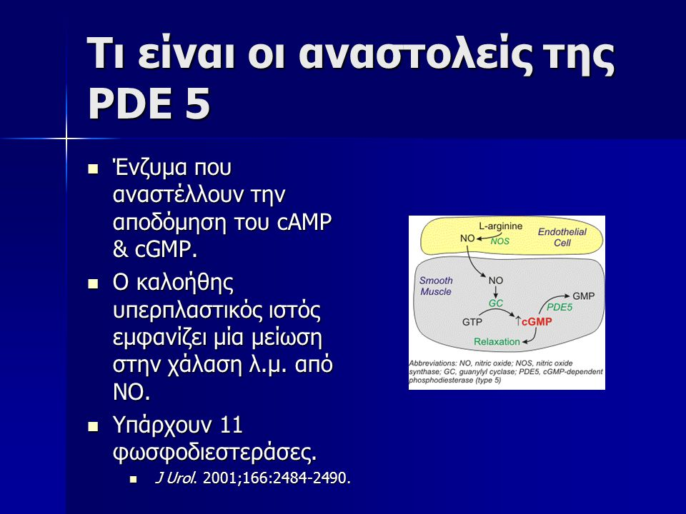 Τι είναι οι αναστολείς της PDE 5