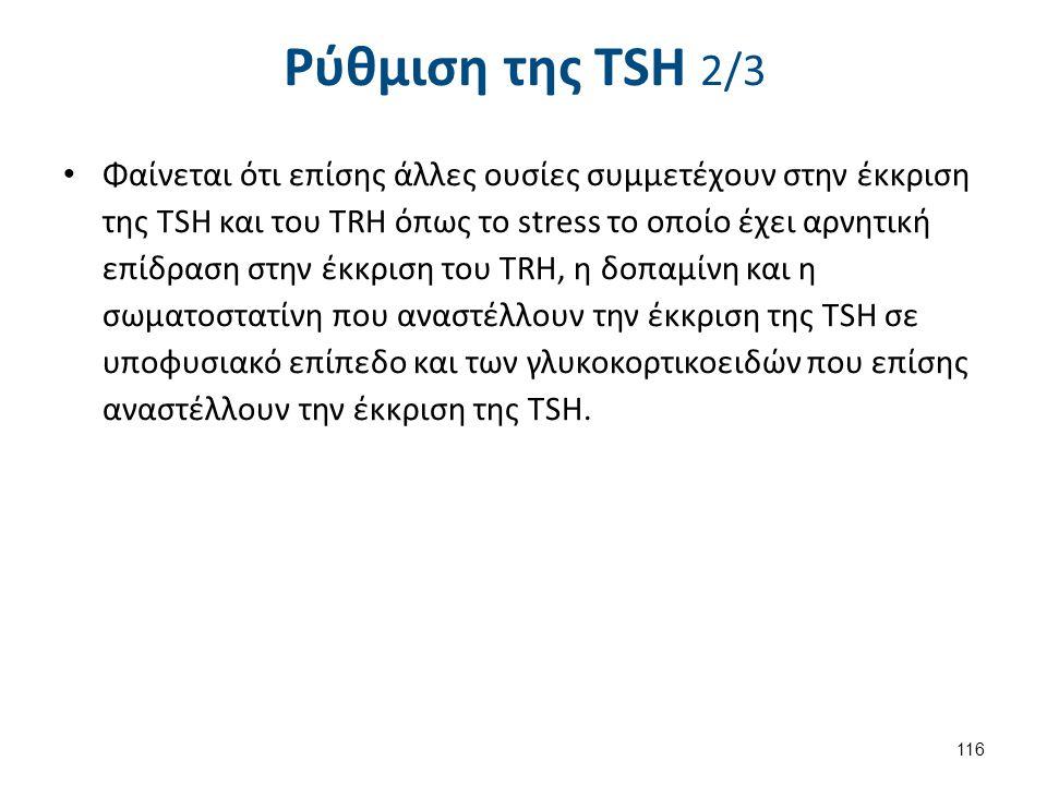 Ρύθμιση της TSH 3/3